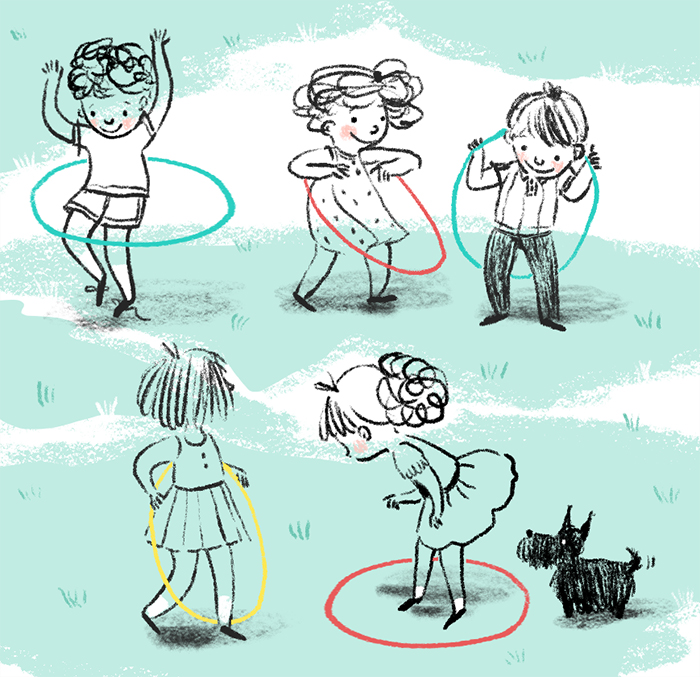 Kids sketches