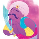 arabian nights illustration genius kids
