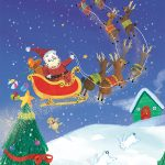 Christmas Winter children kids friends snow Calendar