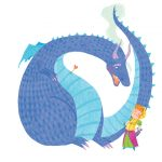 Dragon Princess illustration Warrior Kids Children